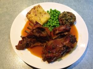Goat plate