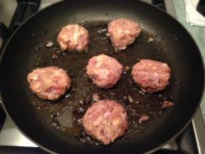 Veal meatballs 3