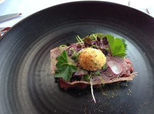 Wallaby tartare