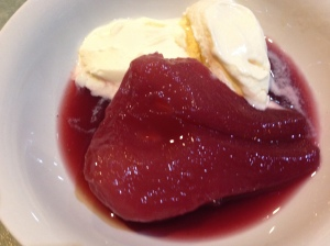 Poached pears 4