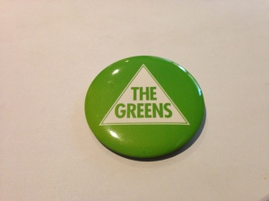 Greens badge