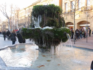 Fountain frozen in time, Aix-en-Provence