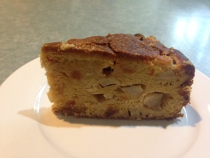 Pear apricot cake 2
