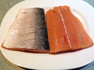Salmon baked 1
