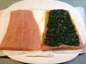 Salmon baked 4