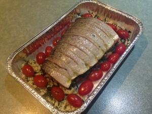 Salmon baked 6