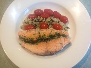 Salmon baked 8
