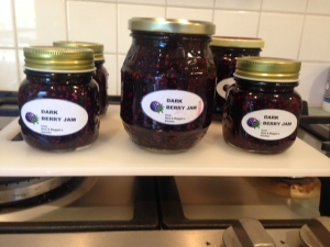 Dark berry jam